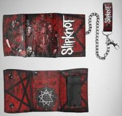 Slipknot - Scratched Group Chain Wallet