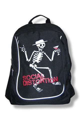 Social Distortion - Skelli Back Pack