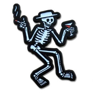Social Distortion - Skelly Enamel Lapel Pin Badge