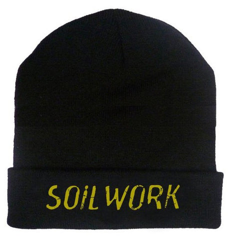 Soilwork - Embroidered Gold Beanie