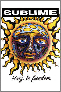 Sublime - 40 Ounces Magnet