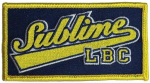 Sublime - Patch - LBC Logo Embroidered Iron On