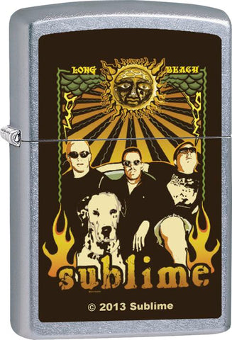 Sublime - Chrome - Flip Top - Zippo Lighter
