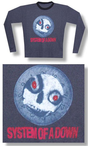 System Of A Down - Skull Thermal Longsleeve