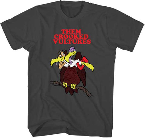 Them Crooked Vultures - Vulture On Branch T-Shirt