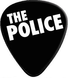 The Police - 2 Pack Of Guitar Picks