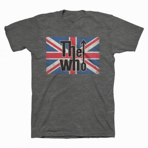 The Who - Union Jack Logo T-Shirt