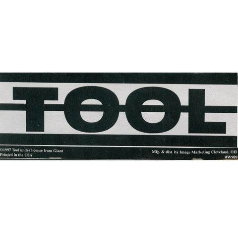 Tool - Sticker - Aenima - Undertow - Logo