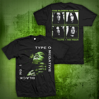 Type O Negative - Black With Faces T-Shirt