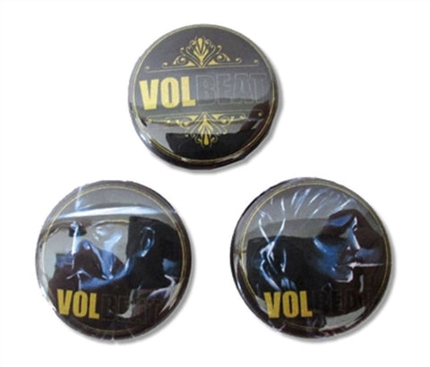 Volbeat - Outlaw Button Set