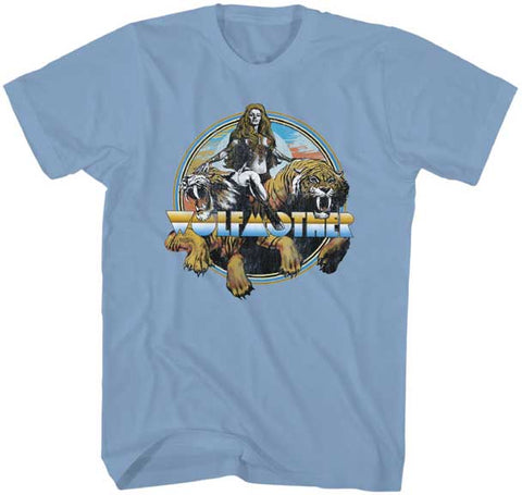 Wolfmother - Woman On Tiger T-Shirt