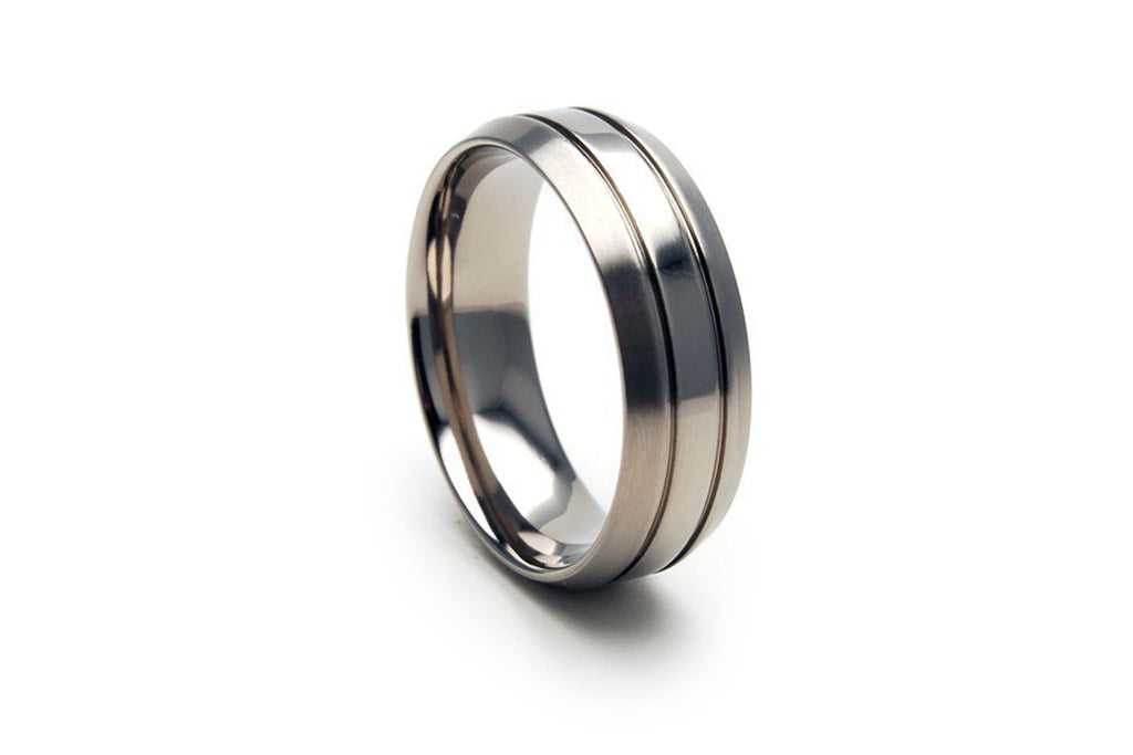 7 mm Titanium Ring