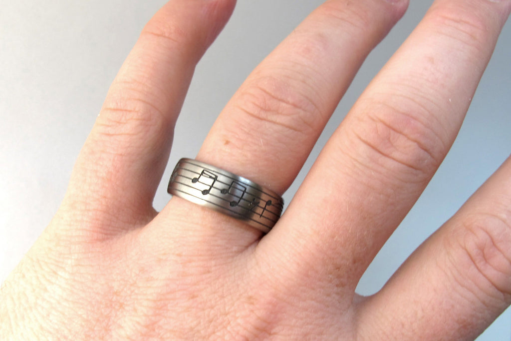 Personalized Music Ring