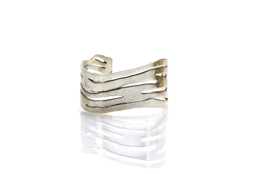 Small zebra adjustable ring