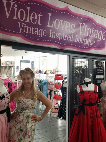 Violet Loves Vintage Afflecks Manchester 1950s dresses