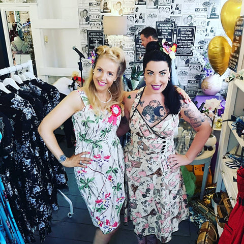 Violet Loves Vintage Pin Up Dresses Afflecks Manchester