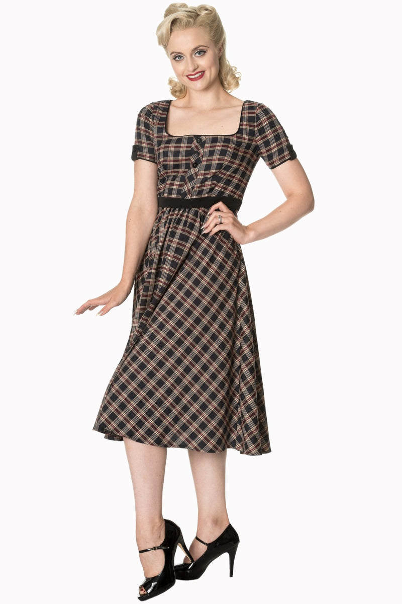 Miss Brodie Swing Dress