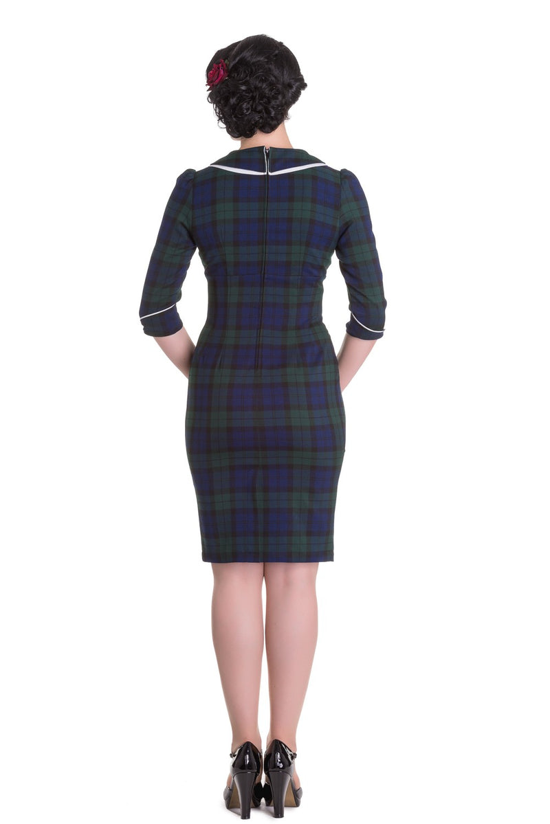 Tatiana Tartan Wiggle Dress
