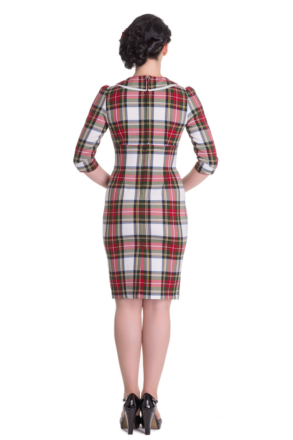 Talia Tartan Wiggle Dress