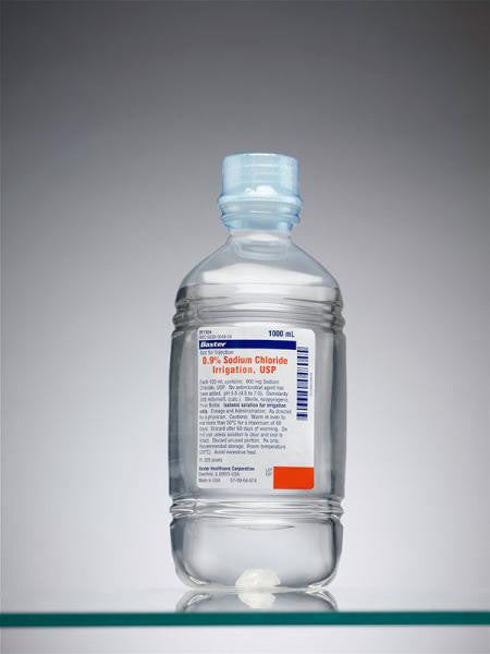 Sodium Chloride .9%  Irregation (Pour bottle)