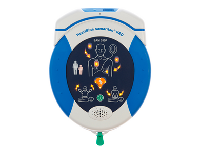 AED HeartSine samaritan PAD 350 Connected
