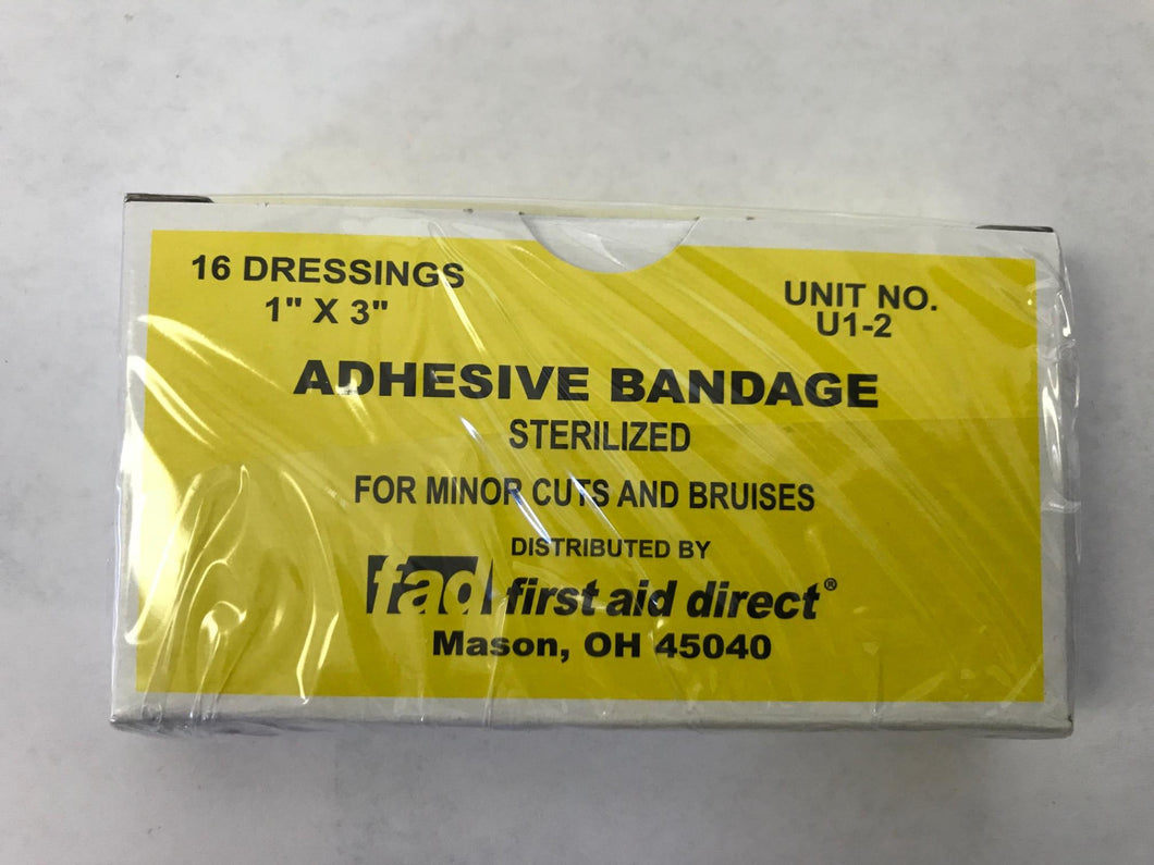 Unit Adhesive Bandaid 1x3
