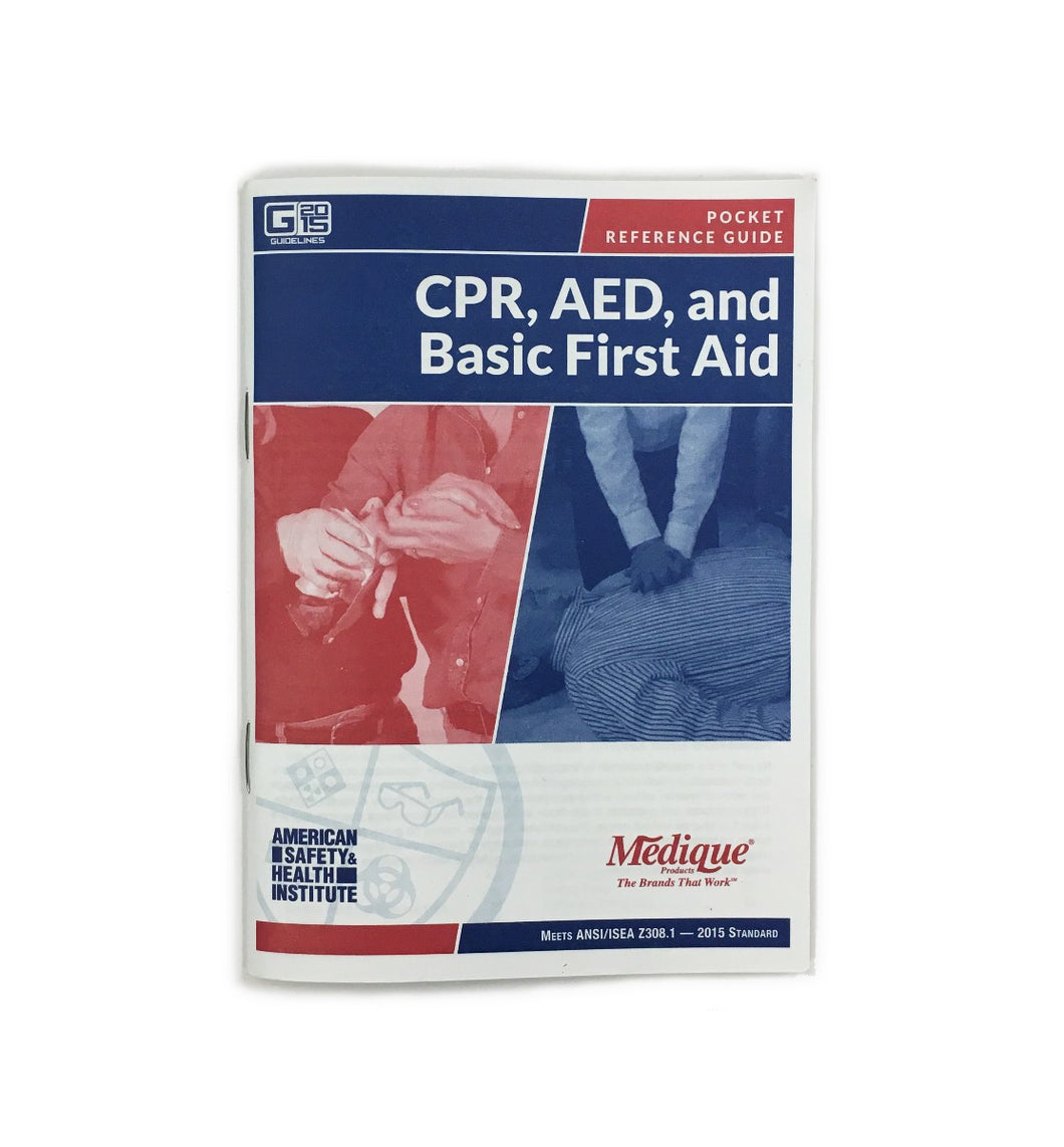 First Aid, CPR, AED Pocket Guide