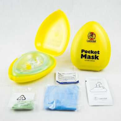 CPR Pocket Mask w/Oxygen port