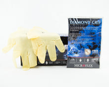 Glove Diamond Grip Latex