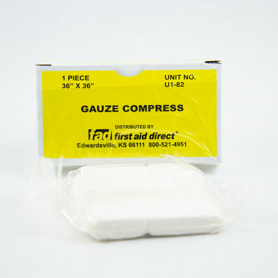 Unit Gauze Compress 36x36