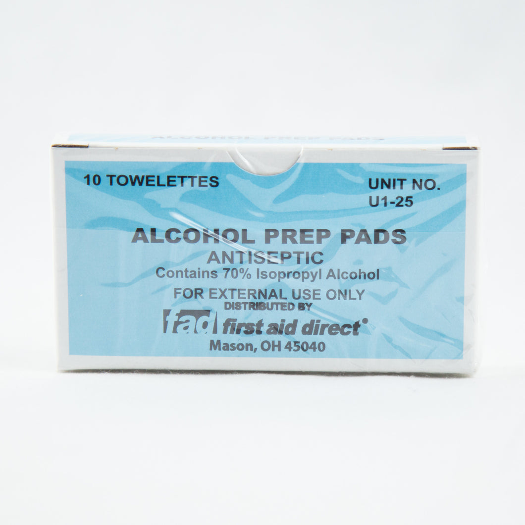Unit Alcohol Prep Pads