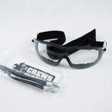 "Safety Glasses ""Rattler""      Clear Lens, Foam seal"