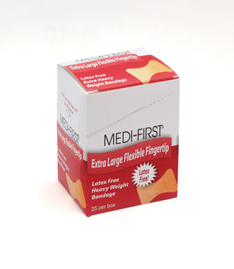 Bandage Fingertip XL  Elastic 25-Count Box