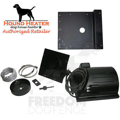 Hound Heater Dog House Heater + Ventilation Fan w/ Igloo Bracket Heat-N-Breeze