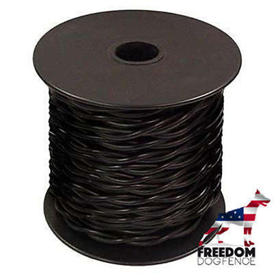 Dog Fence In-Ground Twisted Wire 100 Feet 20 GAUGE Solid Core Heavy Duty