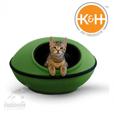 K&H Pet Products Mod Dream Pod for Cats Green or Tan
