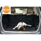 "K&H Pet Products Quilted Cargo Cover 52""x40""x18"" Black or Tan"