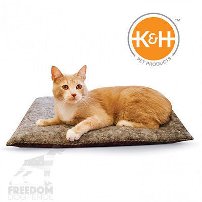 K&H Pet Products Amazin' Kitty Pad Gray 100% Polyester 1, 2 or 3 Pack