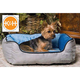K&H Pet Products Lounge Sleeper Self-Warming Blue, Green, or Tan