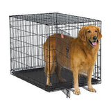 Midwest iCrate Single Door Folding Dog Crate XXSmall to XXLarge