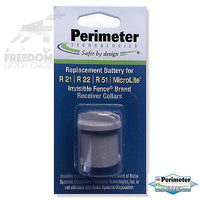 Perimeter Technologies Invisible Fence Compatible R21 & R51 Dog Collar Battery