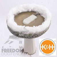 K&H Ice Eliminator™ Bird Bath De-Icer Heater KH9000 50 Watt