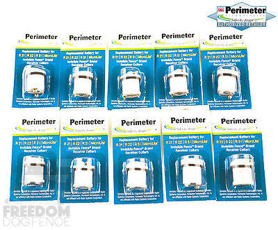 Invisible Fence Dog Collar Battery Packs Perimeter IFA-001 fit R21,R22,R51