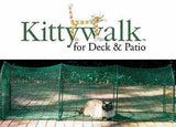 Kitty Walk Portable Deck & Patio Outdoor Cat Enclosed Play Pen Tunnel 4'