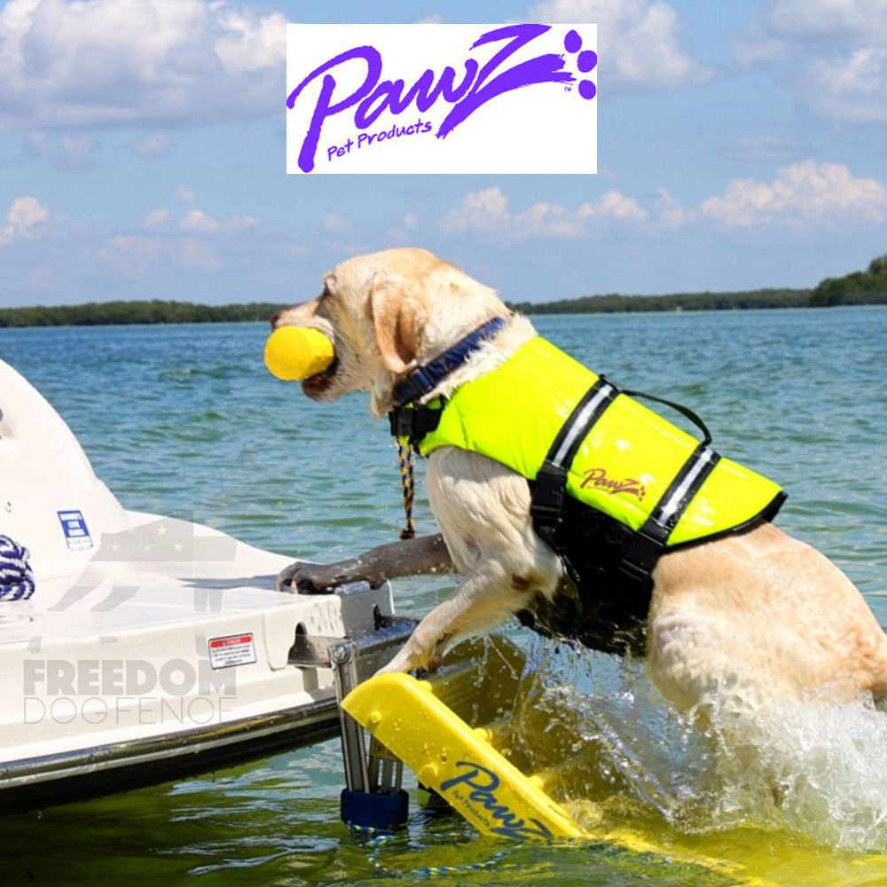 "Pawz Pet Products Portable Slip Resistant Doggy Boat Ladder 64"" x 16"""