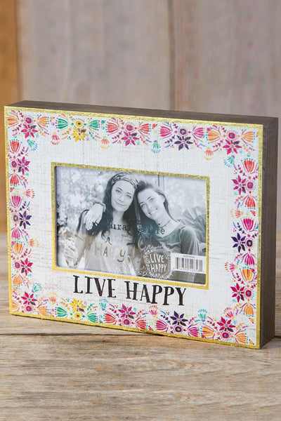 Live Happy Picture Frame