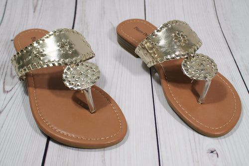 Summer Days Sandal - Gold