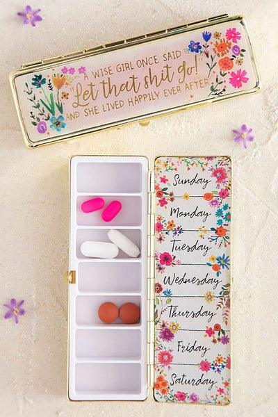 Wise Girl Daily Pill Box - Natural Life