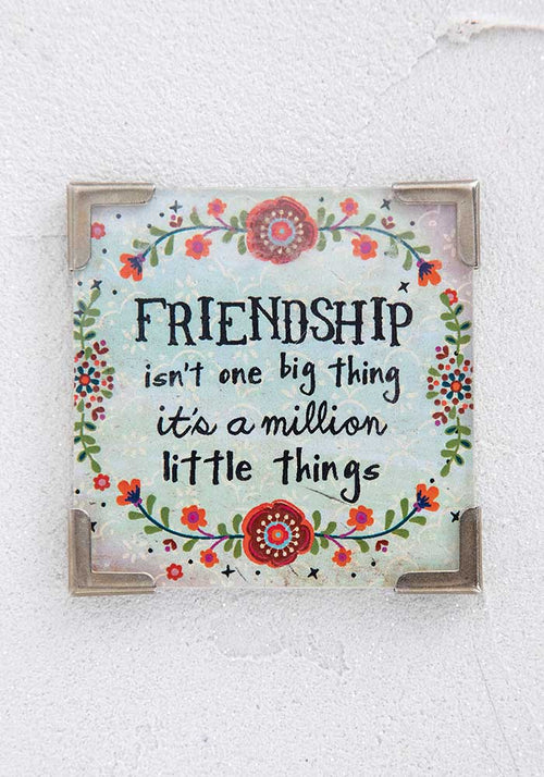 Friendship Corner Magnet - Natural Life