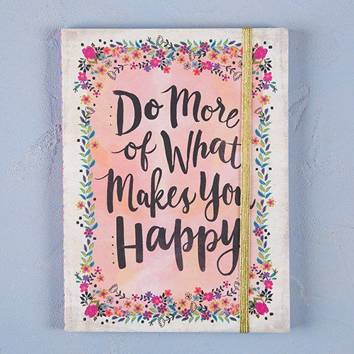 """Do More Happy"" Journal"